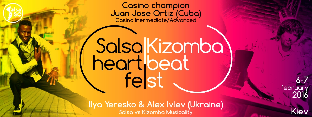 HeartBeat Salsa/Kizomba fest 6-7 february in Kiev